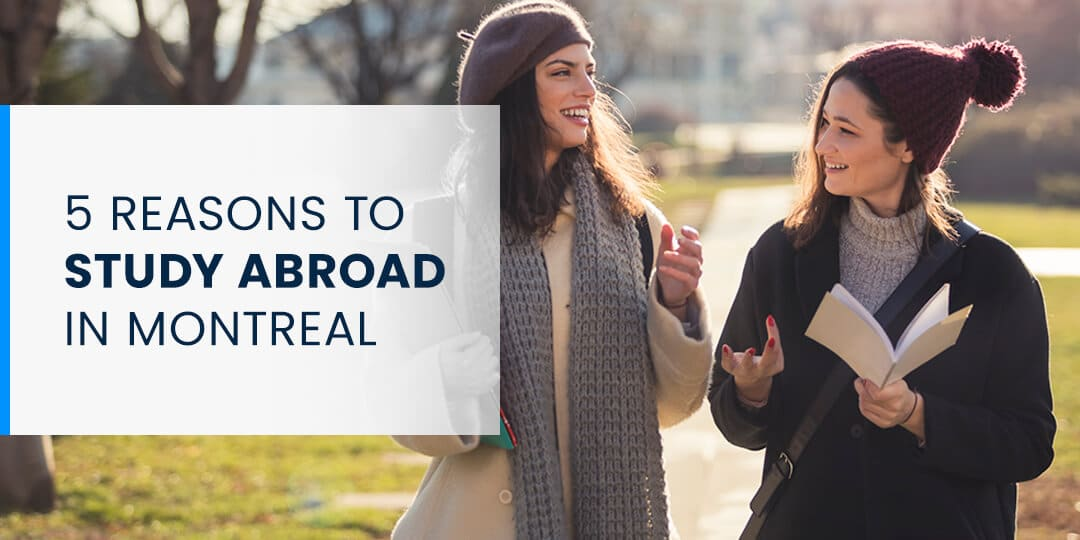 5 Reasons to Study Abroad in Montreal